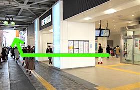 Step1.中目黒駅正面改札